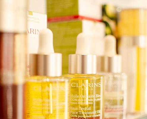 Face Treatment Oils von Clarins im Kosmetikstudio Erlebnis Schönheit Bad Kreuznach