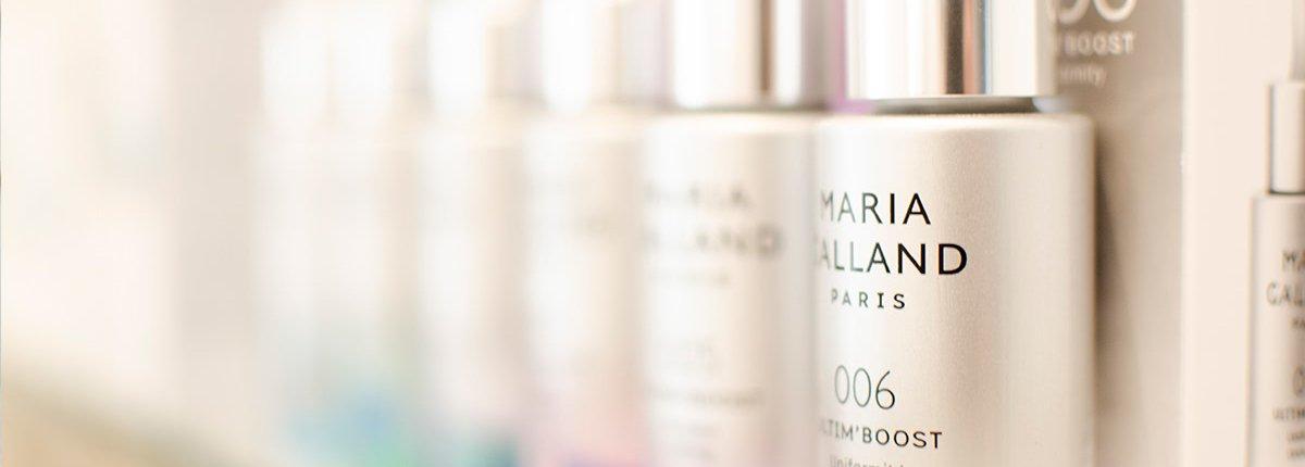 Kosmetikstudio Jutta Pfullendörfer - hochwertige Cremes von Maria Galland