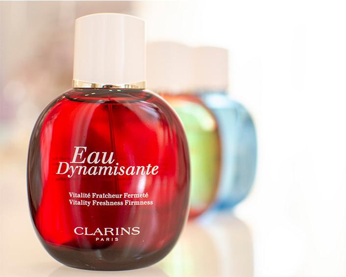 Produkte & Marken ∙ Clarins Eau Dynamisante bei Erlebnis Schönheit